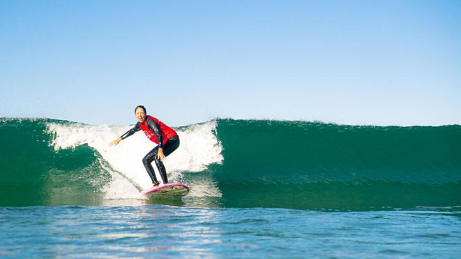 Ein Blick in unsere Surfschule
